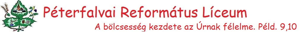 Péterfalvai Református Líceum